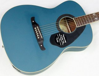 Fender Tim Armstrong Hellcat FSR Acoustic-Electric Guitar, Sapphire Blue #43301 ギター