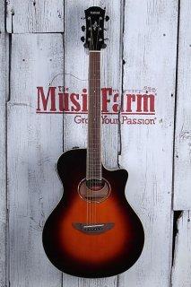 Yamaha APX600 OVS Thinline Cutaway Acoustic Electric Guitar Old Violin Sunburst ギター