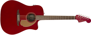 Fender Redondo Player, Walnut Fingerboard, Candy Apple Red 885978901241 ギター