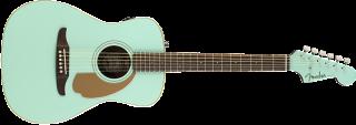 Fender Malibu Player, Walnut Fingerboard, Aqua Splash 885978901333 ギター