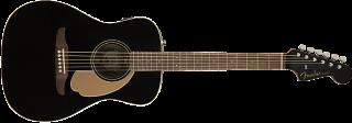 Fender Malibu Player, Walnut Fingerboard, Jetty Black 885978901319 ギター