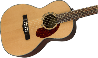 Cool! Fender CP-140SE Parlor Acoustic/Electric in Natural! Includes Hard Case! Free Shipping! ギター