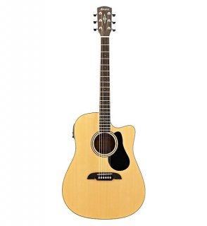 Alvarez Regent RD28CE Dreadnought Acoustic Electric Guitar with Gig Bag Natural ギター