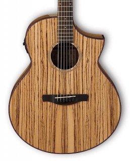 Ibanez AEW40ZW Zebrawood Acoustic-Electric ギター