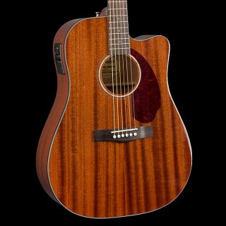 Fender CD-140SCE All-Mahogany Acoustic-Electric ギター