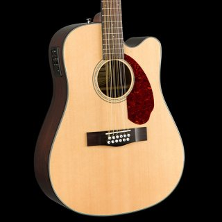 Fender CD-140SCE 12-String Acoustic-Electric Natural ギター