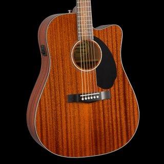 Fender CD-60SCE All Mahogany Natural ギター