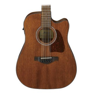 Ibanez AW5412CE Artwood Series 12-String Acoustic/Electric (Open Pore Natural) ギター