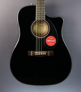 DEMO Fender CD-60SCE - Black (683) ギター