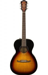 Fender FA-235E Concert Size Acoustic Electric Guitar in 3 Tone Sunburst ギター