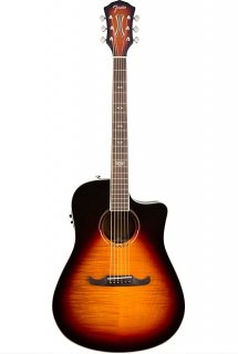 Fender T-Bucket 300CE V3 Acoustic Electric Guitar Flame Maple - 3 Color Sunburst ギター