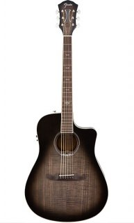 Fender T-Bucket 300-CE Acoustic Electric, Rosewood Fingerboard, Moonlight Burst ギター