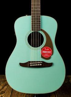 Fender Malibu Player - Aqua Splash - Free Shipping ギター
