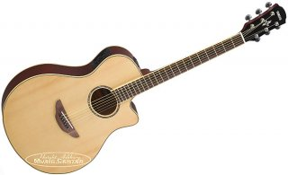 Yamaha All New APX600 NA Thinline Acoustic-Electric Guitar Built in Tuner, Natural ギター