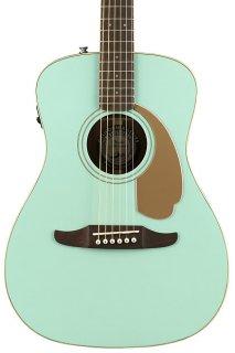 Fender Malibu Player Acoustic Electric Guitar - Aqua Splash ギター