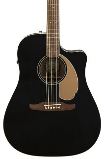 Fender Redondo Player Acoustic Electric Guitar - Jetty Black ギター