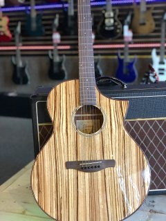 Ibanez Exotic Wood AEW40ZW-NT Acoustic-Electric Guitar Natural ギター