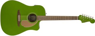 Fender Redondo Player Electric Acoustic Electric Jade Guitar with Walnut Fretboard ギター