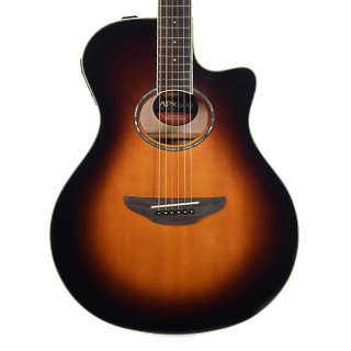 Yamaha APX600 Thinline Acoustic/Electric Guitar Old Violin Sunburst ギター