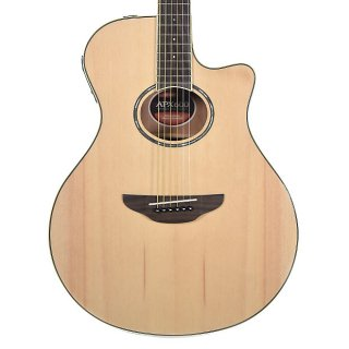 Yamaha APX600 Thinline Acoustic/Electric Guitar Natural ギター