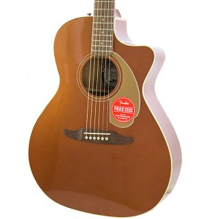Brand New Fender Newporter Player Rustic Copper Acoustic Electric Guitar ギター
