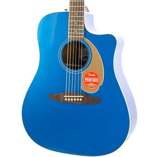 Brand New Fender Redondo Player Belmont Blue Acoustic Electric Guitar ギター