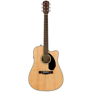 Fender Classic Design Series CD-60SCE Cutaway Dreadnought Natural ギター