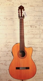 Yamaha CGX122MSC Solid Spruce Top Cutaway A/E Classical CGX Series Guitar ギター