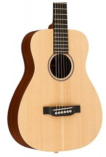 Martin LX1E Little Martin Acoustic-Electric Guitar Natural with Gigbag ギター