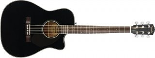 Fender CC-60SCE Acoustic/Electric Guitar *Black* ギター