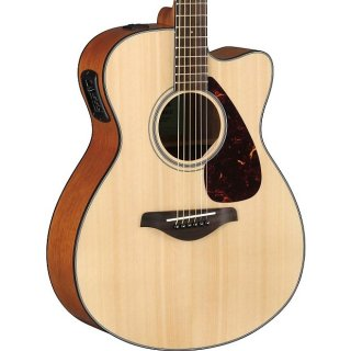 Yamaha FSX800C Acoustic-Electric Guitar, Natural ギター