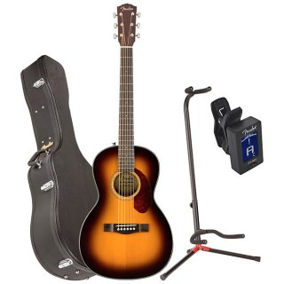 Fender 0962712232 CP-140SE SB WC Acoustic Electric Guitar w/ Case, Stand, and Tuner ギター