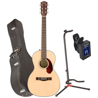 Fender 0962712221 CP-140SE NAT WC Acoustic Electric Guitar w/ Case, Stand, and Tuner ギター