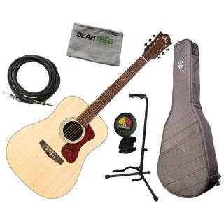Guild D-240E Dreadnought Acoustic-Electric Guitar Bundle ギター