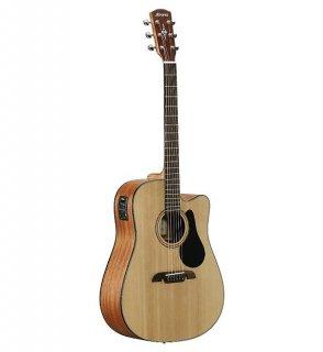 Alvarez Artist Series AD30CE Dreadnought Acoustic Electric Guitar Natural Finish ギター