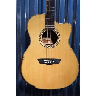 Washburn WCG15CE Comfort Series Acoustic Electric Guitar & Case #0210 ギター