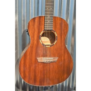 Washburn Woodline WLO12SE Solid Mahogany Top Acoustic Electric Guitar & Case #8460 ギター