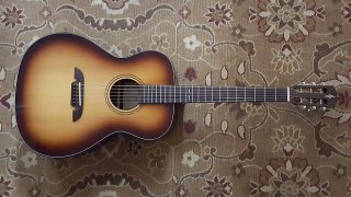 Alvarez Artist AF77 Custom Acoustic Electric in Shadowburst with Case and Pro Setup! ギター