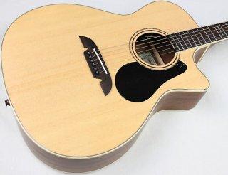 Alvarez AG60CE Grand Auditorium Acoustic-Electric Guitar, Natural, NEW! #19948 ギター