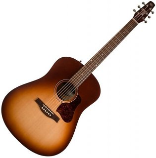 Seagull Entourage Autumn Burst Dreadnought Size Solid Top Acoustic Guitar 046492 ギター