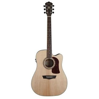 Washburn Heritage Dreadnought Acoustic Electric Guitar ギター