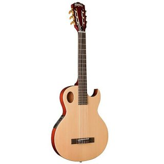 Washburn Festival Classical thinline-solidtop Acoustic Electric Guitar ギター