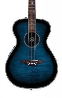 Daisy Rock DR6221-A Pixie Acoustic/Electric, Blueberry Burst, New, Free Shipping ギター