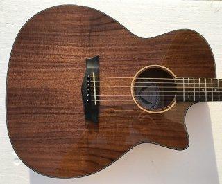 Dean AX E KOA AXS Exotic Cutaway Koa Gloss Natural Acoustic-Electric Guitar ギター