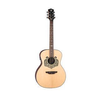 Luna Guitars Celtic Swan 6-String Acoustic Electric Guitar ギター