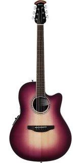 Ovation Celebrity Standard Acoustic Electric Guitar - Purple Burst ギター