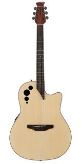 Ovation Applause Elite Series Acoustic-Electric Guitar Spruce Top ギター