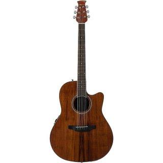 Ovation Balladeer Plus Mid?Depth Acoustic-Electric Guitar - Koa ギター