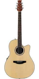 Ovation Applause Balladeer Mid-Depth Acoustic-Electric Guitar - Natural ギター