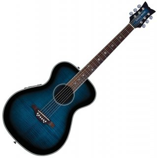 Daisy Rock Pixie Acoustic-Electric Guitar, Blueberry Burst, DR6221 ギター